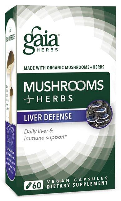 Mushrooms+Herbs Liver Defense (60 Vegan Caps)