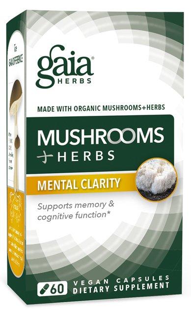 Mushrooms+Herbs Mental Clarity (60 Vegan Caps)