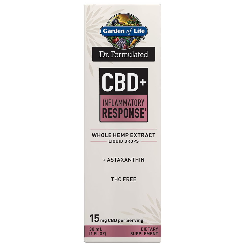 Dr. Formulated CBD+ Inflammatory Response? Liquid Drops 1 FL OZ
