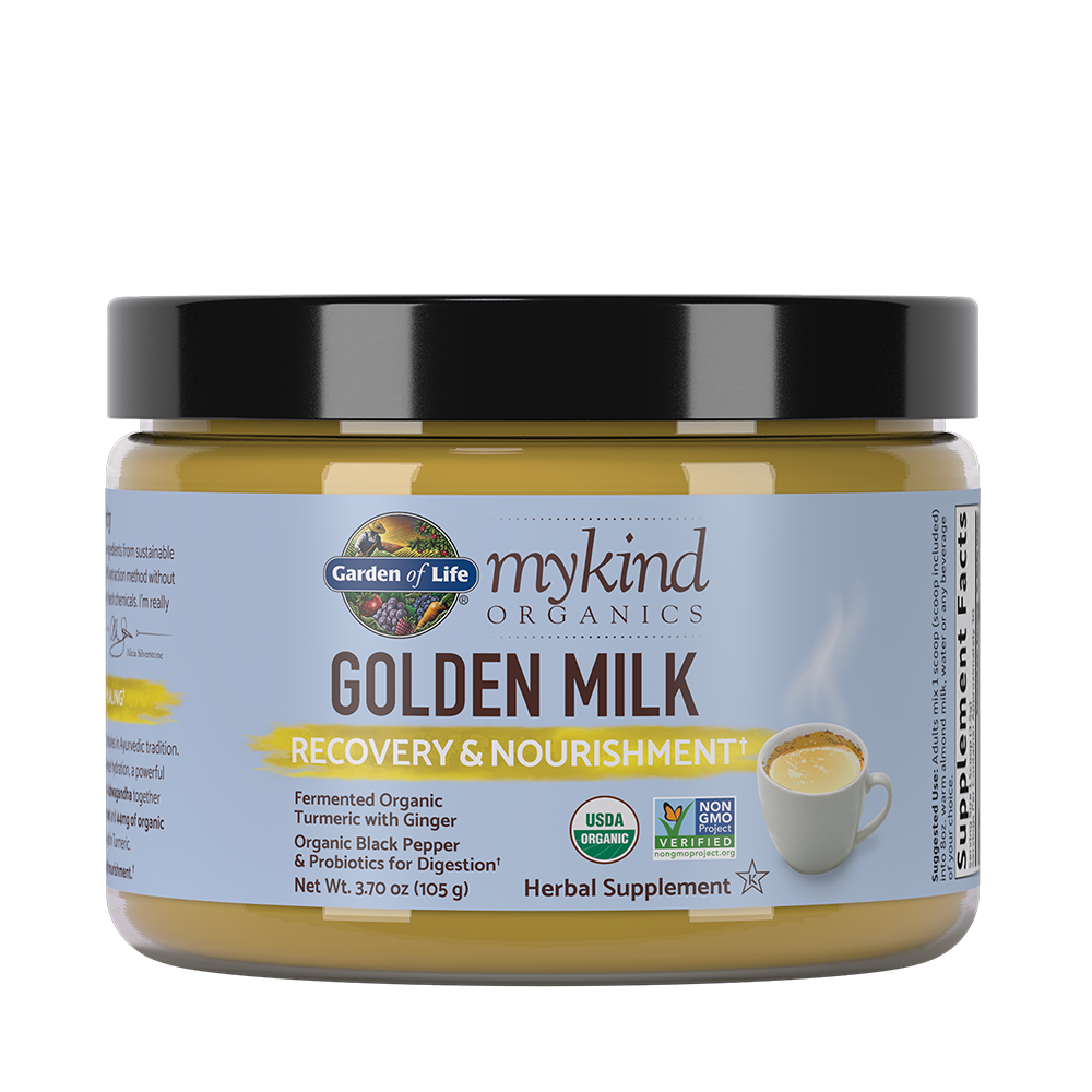mykind Organics Golden Milk Powder (30 Servings)