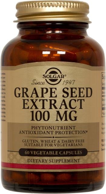Grape Seed Extract 100 mg (60 Vegi-Caps)