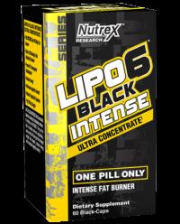 Lipo 6 Black Intense (60 Black Caps)