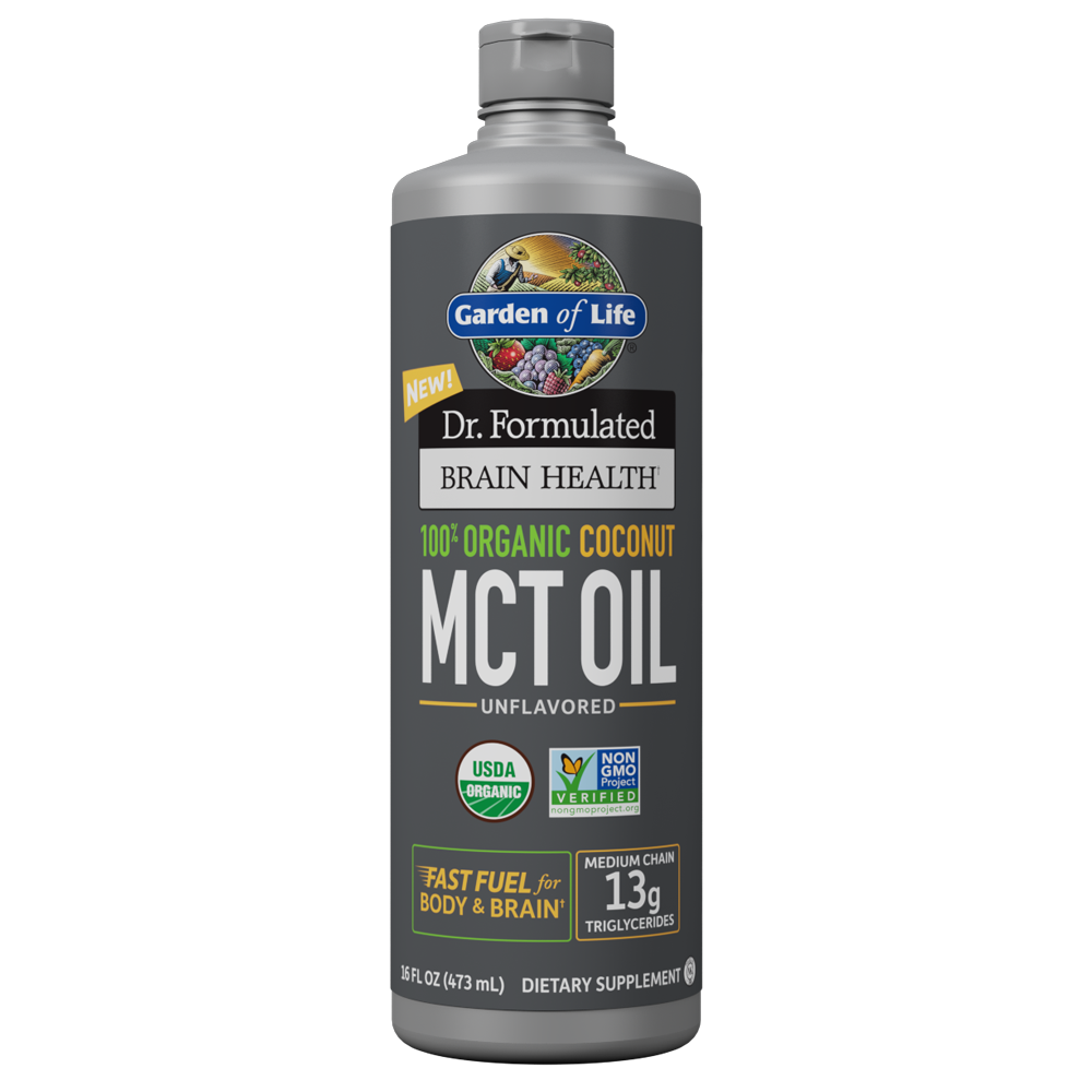 Dr. Formulated 100% Organic Coconut MCT Oil