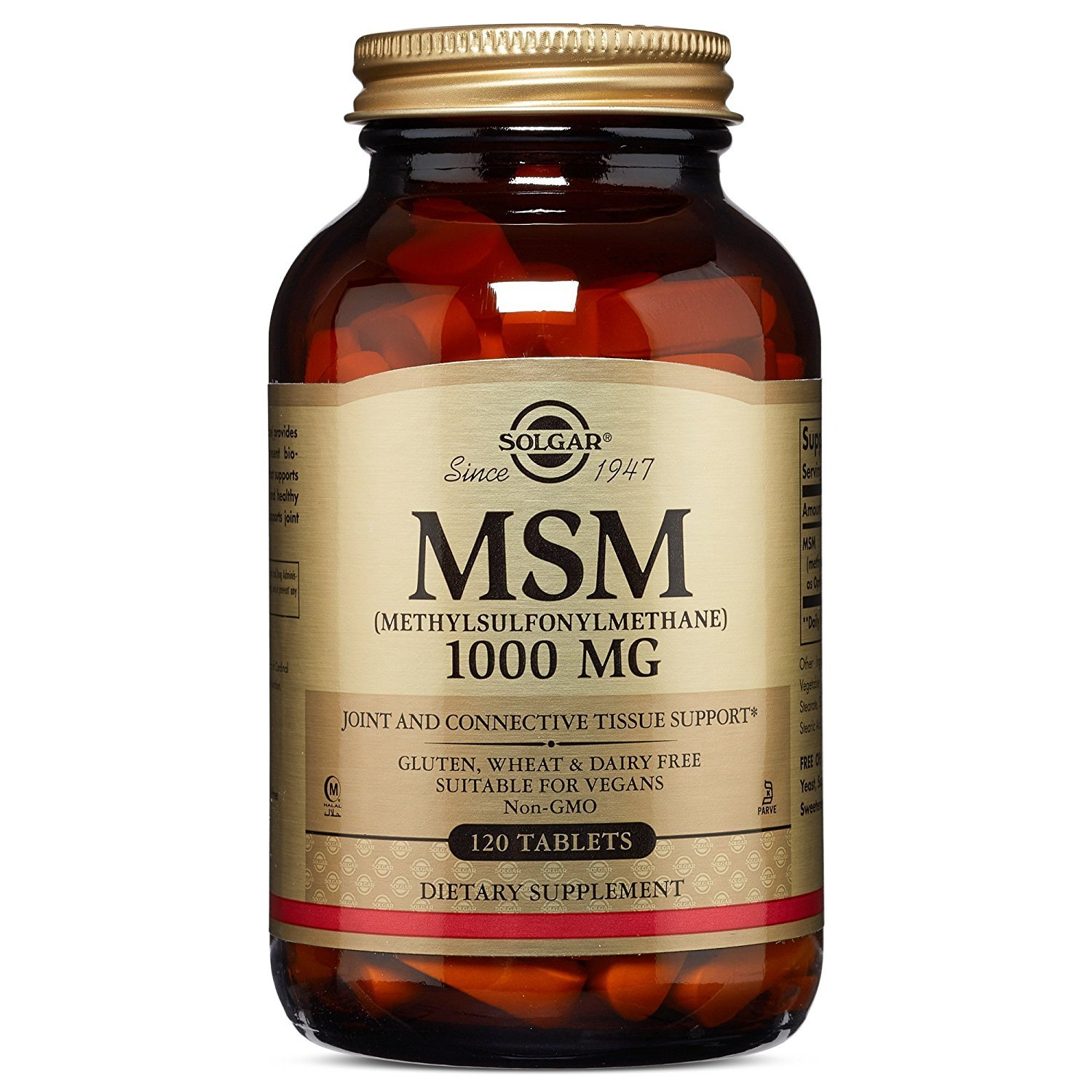 MSM 1000 mg (120 Tablets)