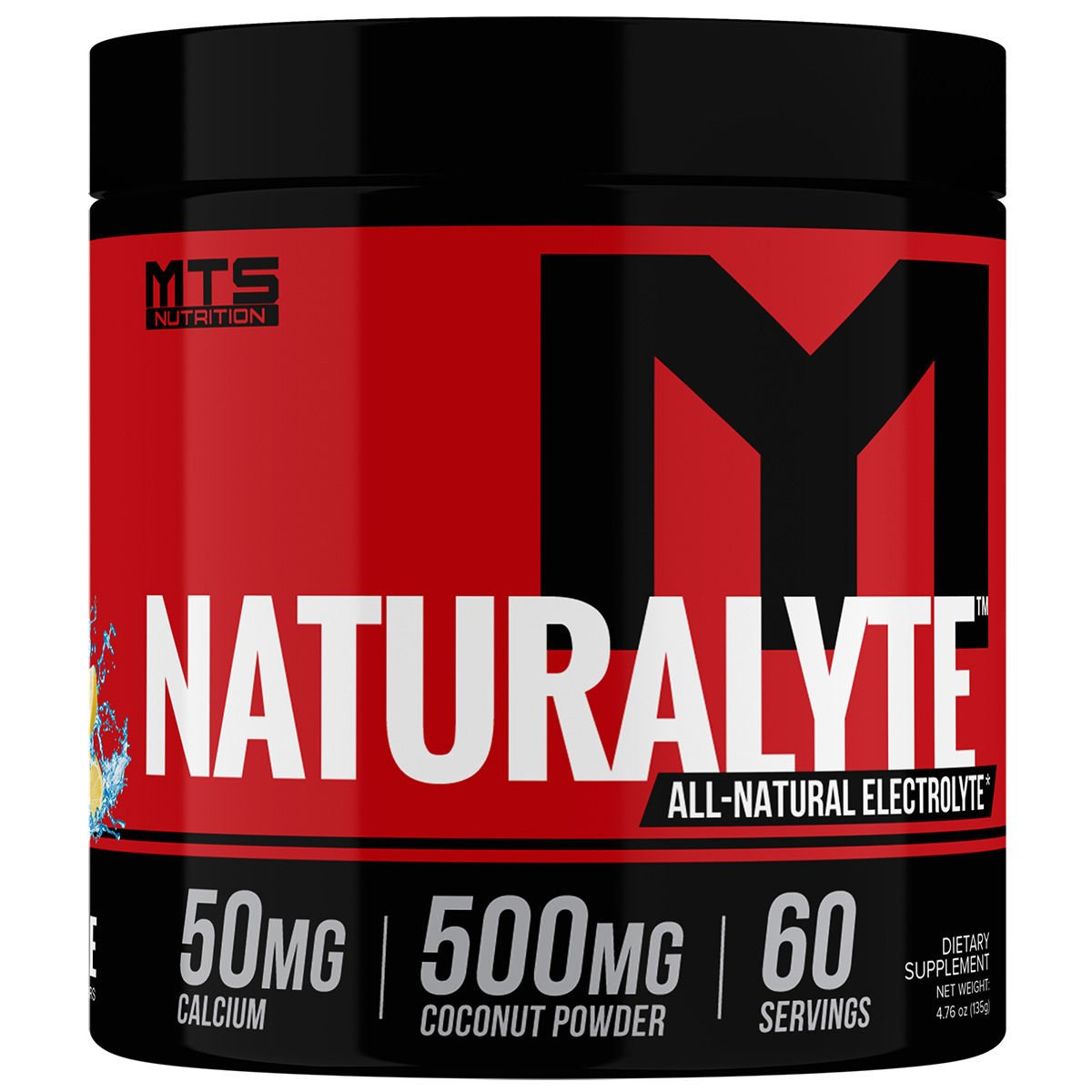 Naturalyte All Natural Electrolyte Powder (60 Servings)