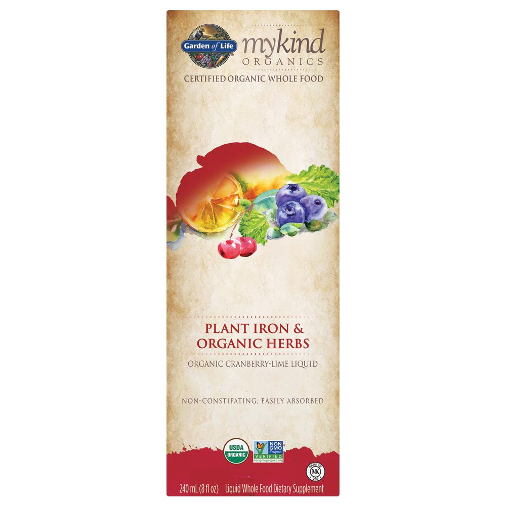 mykind Organics Plant Iron & Organic Herbs (8 fl oz)