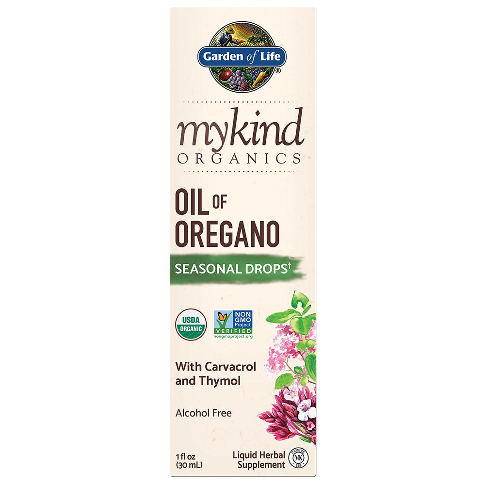 mykind Organics Oil of Oregano Seasonal Drops (1 fl oz)