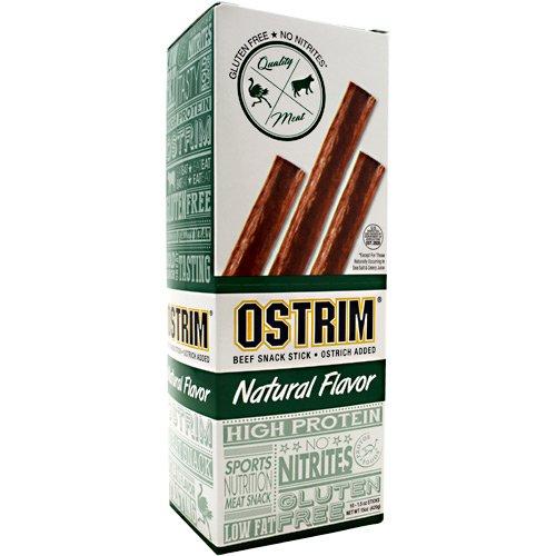 Ostrim Beef and Ostrich Snack Sticks (Box of 10)