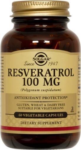 Resveratrol 100 mg (60 Vegi-Caps)