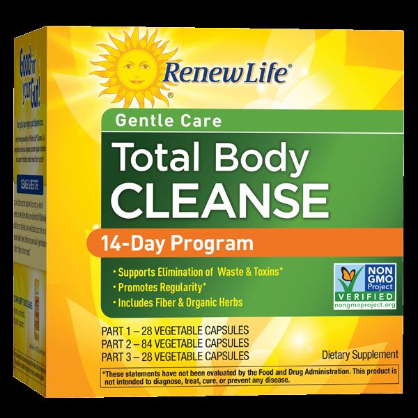 Total Body Cleanse 14-Day Program (3-part kit)