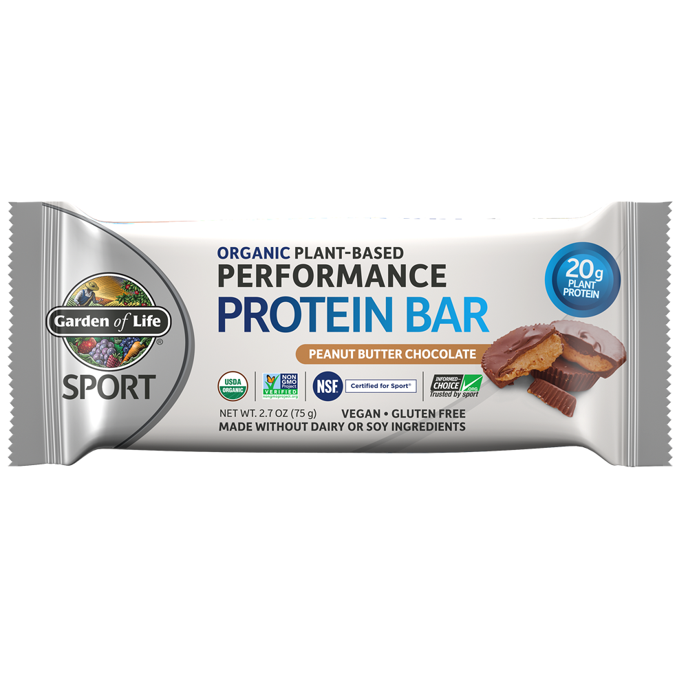 SPORT Organic Plant-Based Performance Protein Bars (1 Bar)