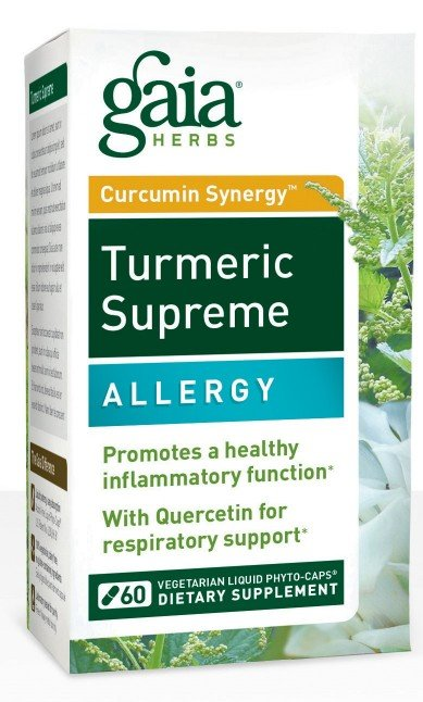 Turmeric Supreme: Allergy (60 Vegi Liquid Phyto-Caps)