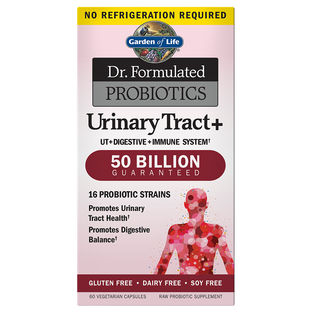 Dr. Formulated Probiotics Urinary Tract+ 50 Billion CFU (30 Caps)
