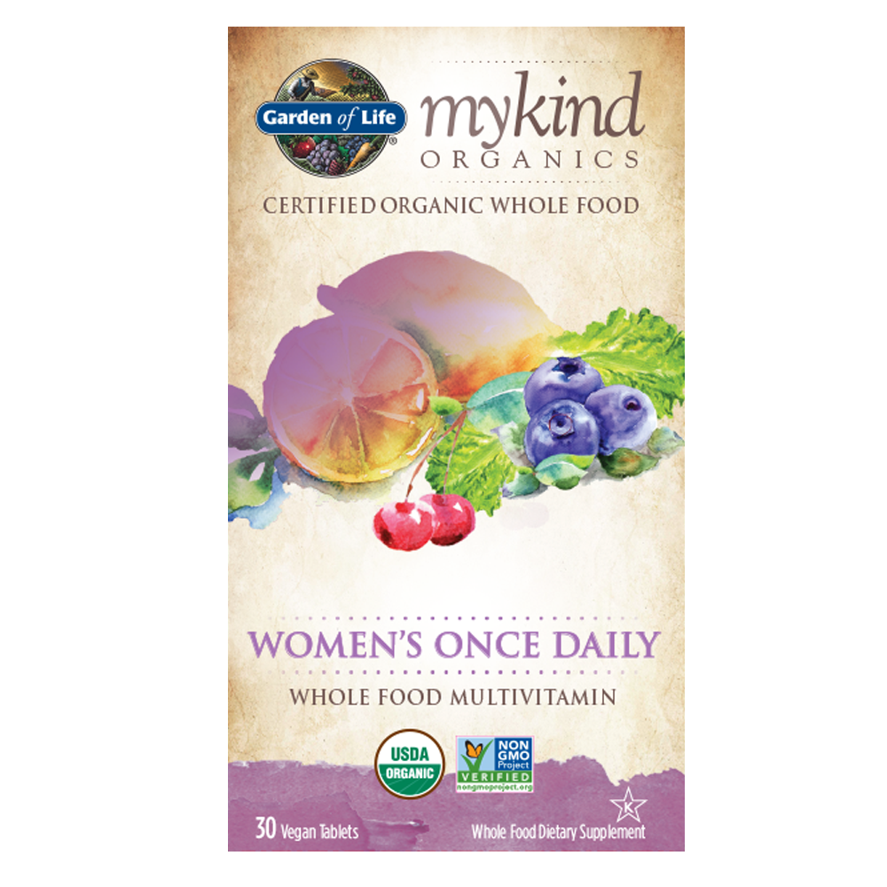 mykind Organics Womens Once Daily Multi