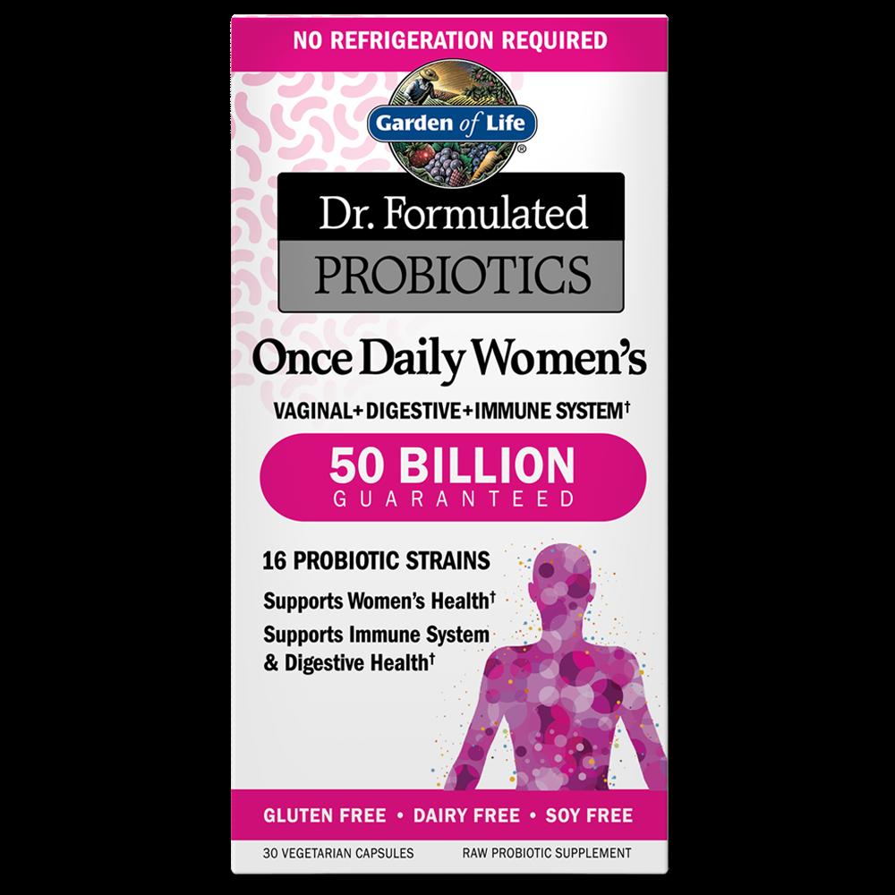 Dr. Formulated Probiotics Once Daily Women's 50 Billion CFU Shelf Stable (30 Vegi-Caps)