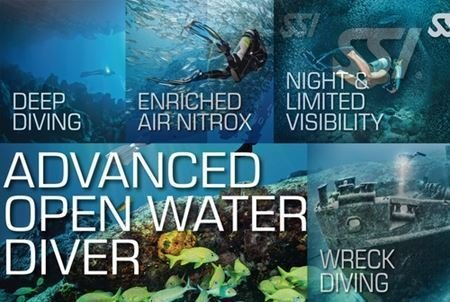 Advanced Open Water Diver Class Bundle