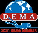2021 DEMA Member Badge
