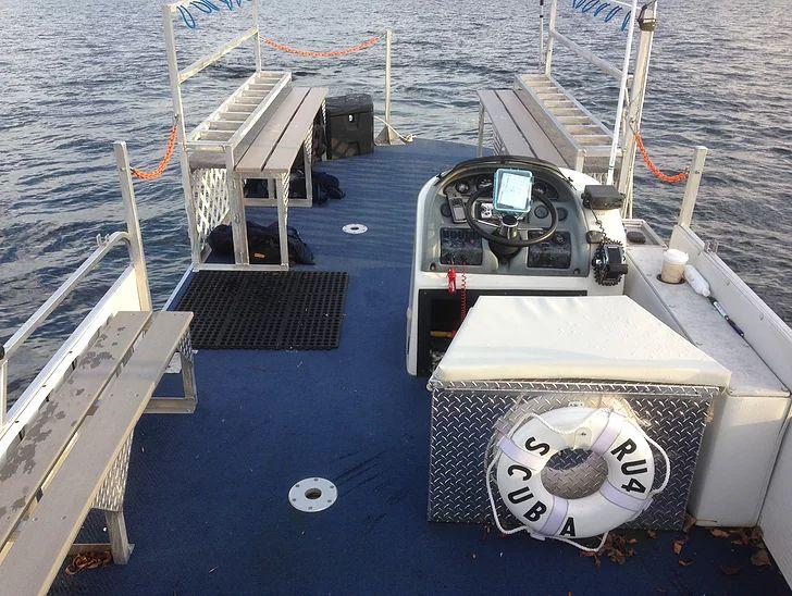 RU4Scuba Dive Boat
