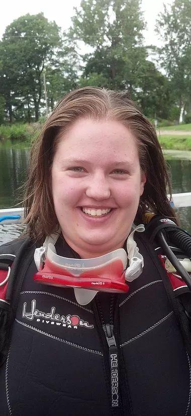Megan Collins, SSI Divemaster
