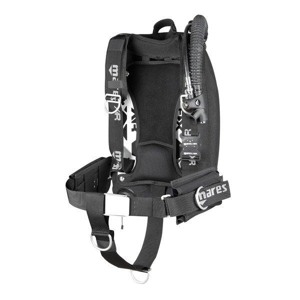 Mares XR-REC Silver Single Backmount BCD Set