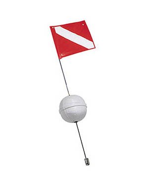 Trident 7 Ball Flag Holder w/ 12x15 Flag