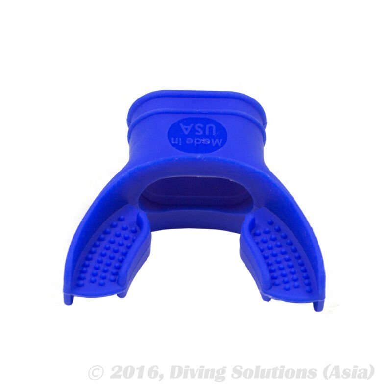 Blue Silicone Regulator Mouthpiece