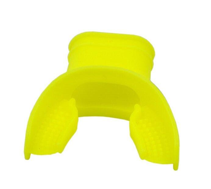Small Yellow Silicone Regulator Mouthpiece