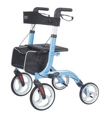 Walker Rollator, 4-Wheel w/ Seat, Dlx Venture Euro