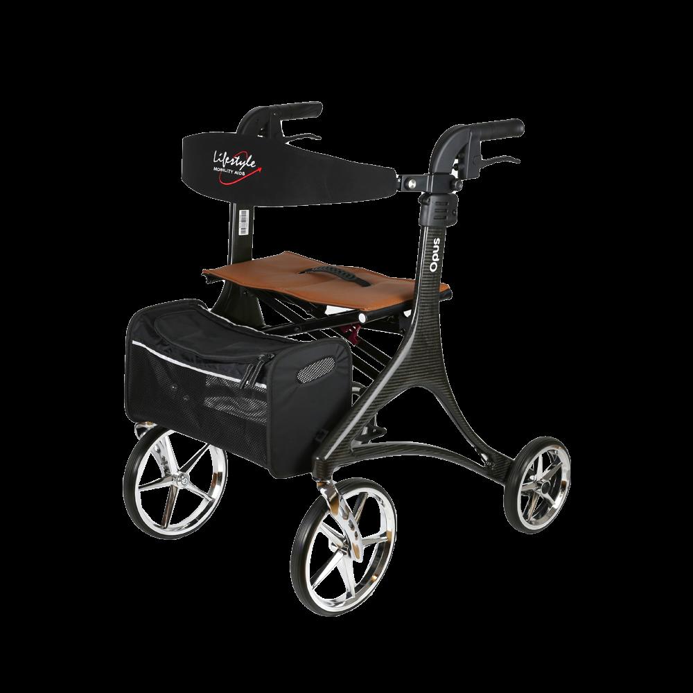 Walker Rollator, 4-Wheel w/ Seat, Lifestyle Opus