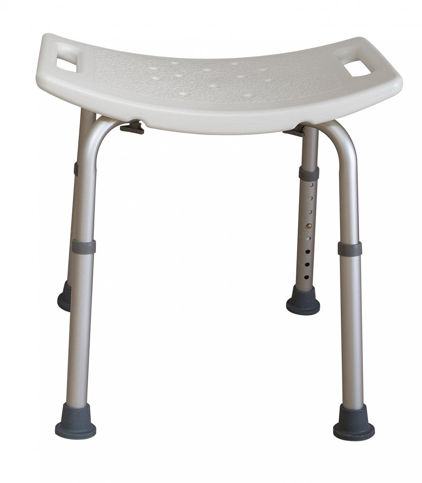 Shower Bench, w/o Back, Adjustable