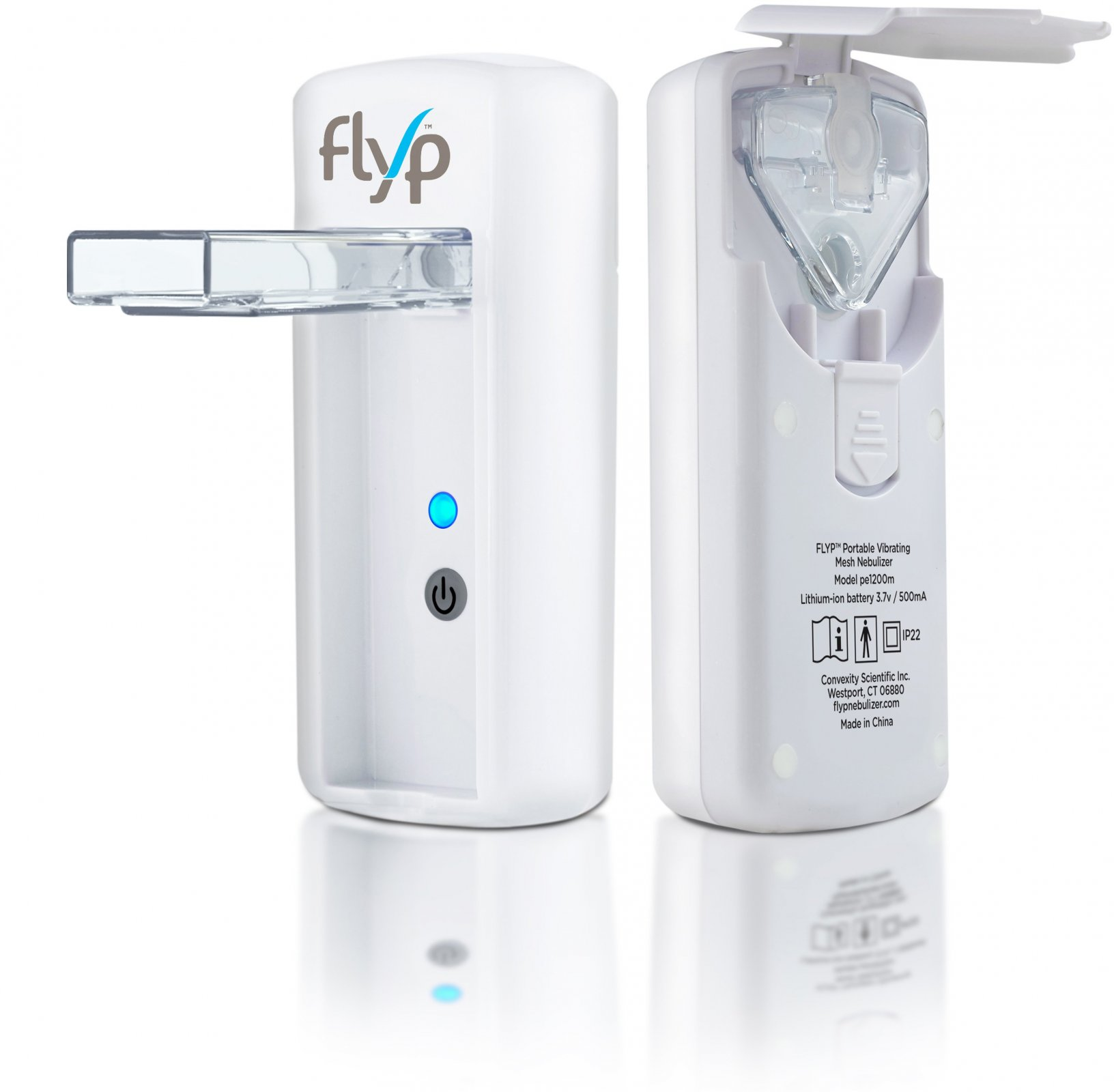 Nebulizer, Flyp Portable Vibrating Mesh