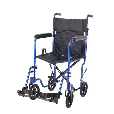 Transport Companion Wheelchair, Lifestyle, Steel, Blue