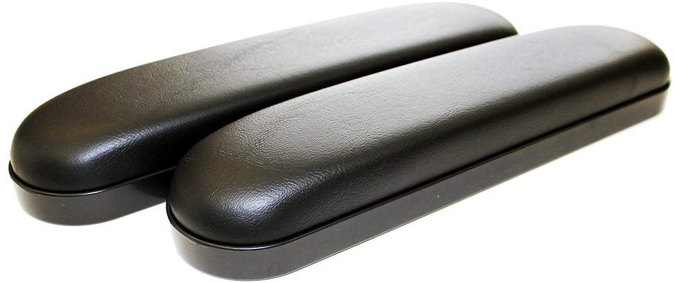 Armrest Pad, Wheelchair, Desk Length, Vinyl Padded, Pair