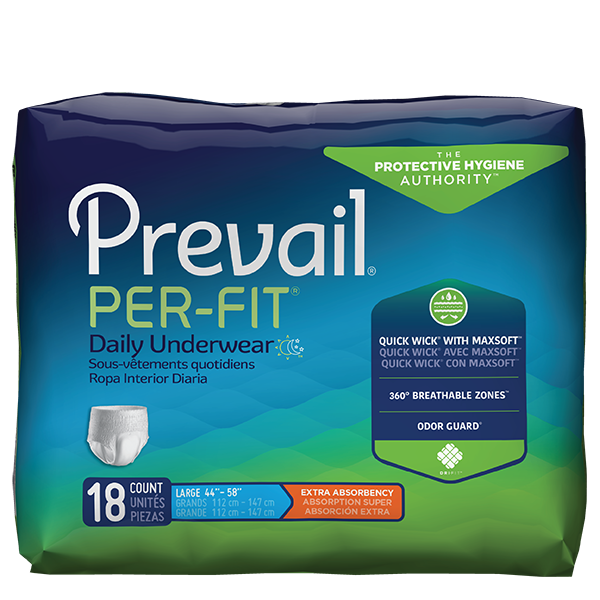 Pullups, Prevail Per-Fit Unisex Daily Underwear, Extra Absorbent