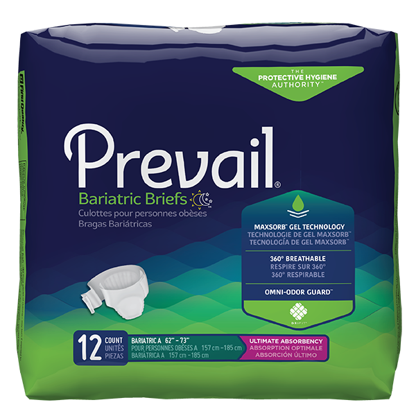 Briefs, Prevail Specialty Sized Unisex, Ultimate Absorbency
