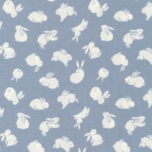 Moon Rabbit Graphic Light Grey