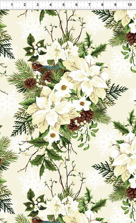 Winter Twist, Bouquet, Cream