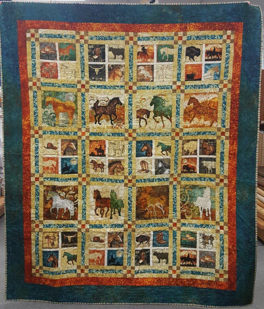 Horses, 60 x 72