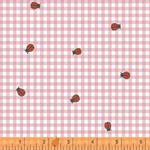 BFFs, Ladybug Check, 50485-1, Pink