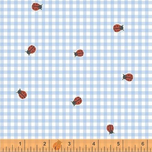 BFFs, Ladybug Check, 50485-3, Blue