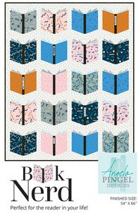 Book Nerd Pattern, 54 x 66