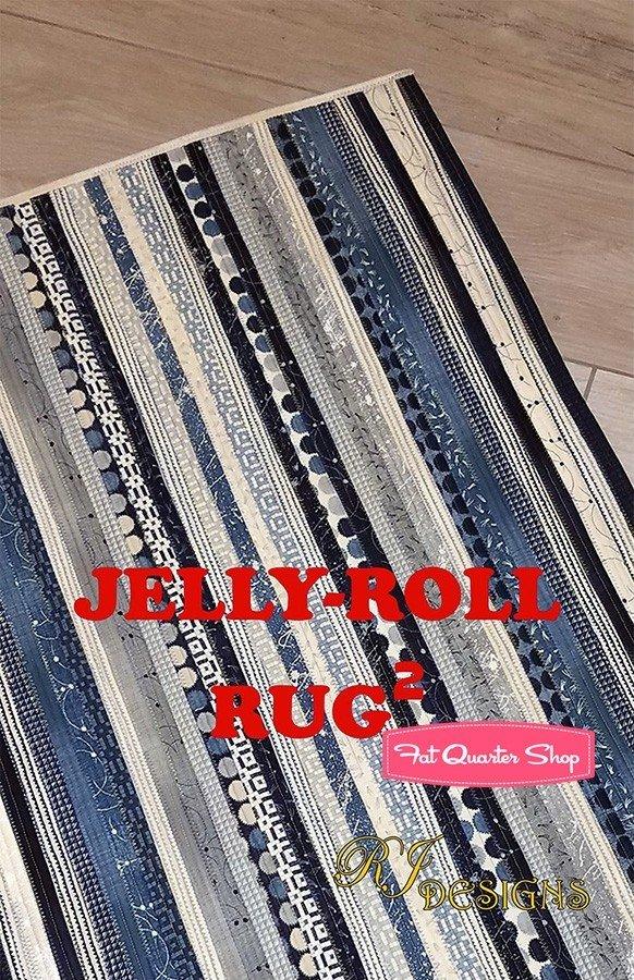 Jelly Roll Rug 2, Pattern, RJD 120