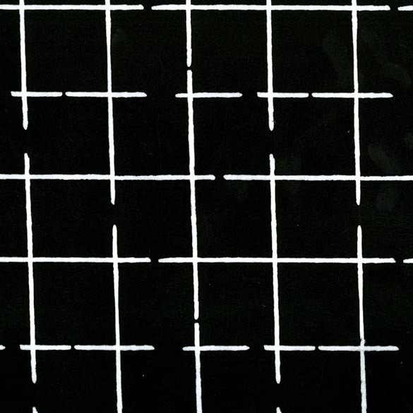 EZ Grid, Black/White, 58/60