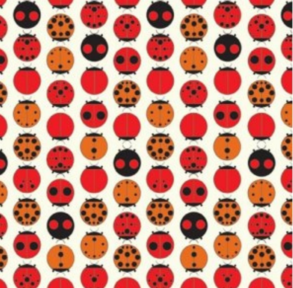 Charley Harper Ladybugs