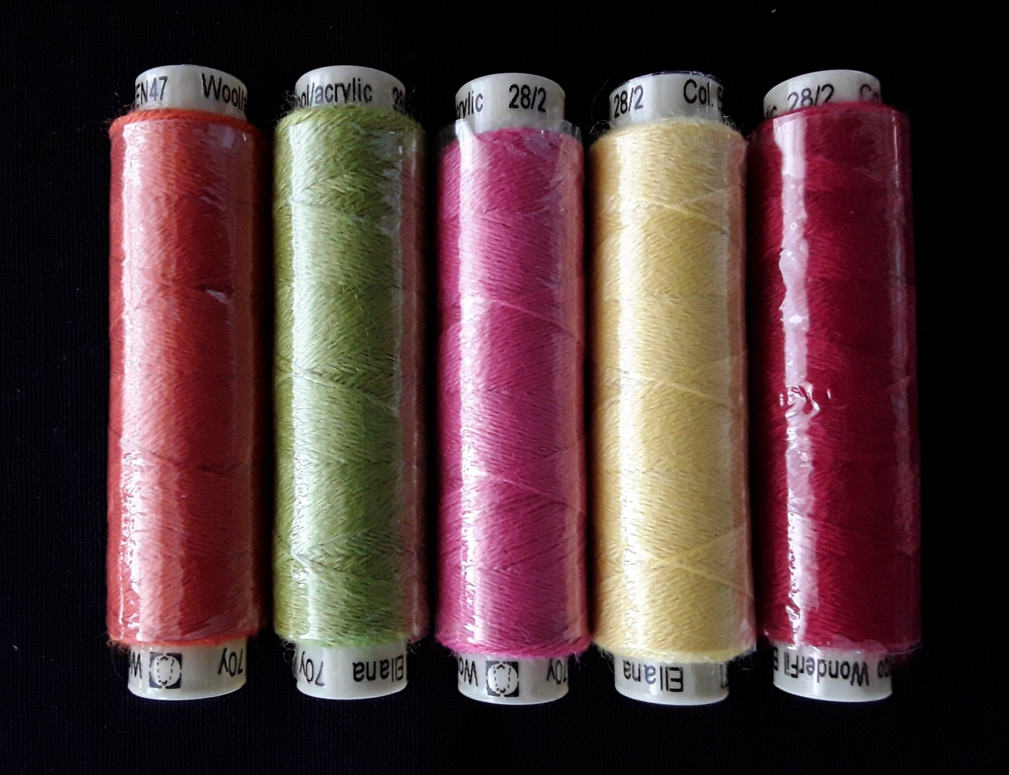 Sue Spargo Wool Thread Kit for Spring Tulips