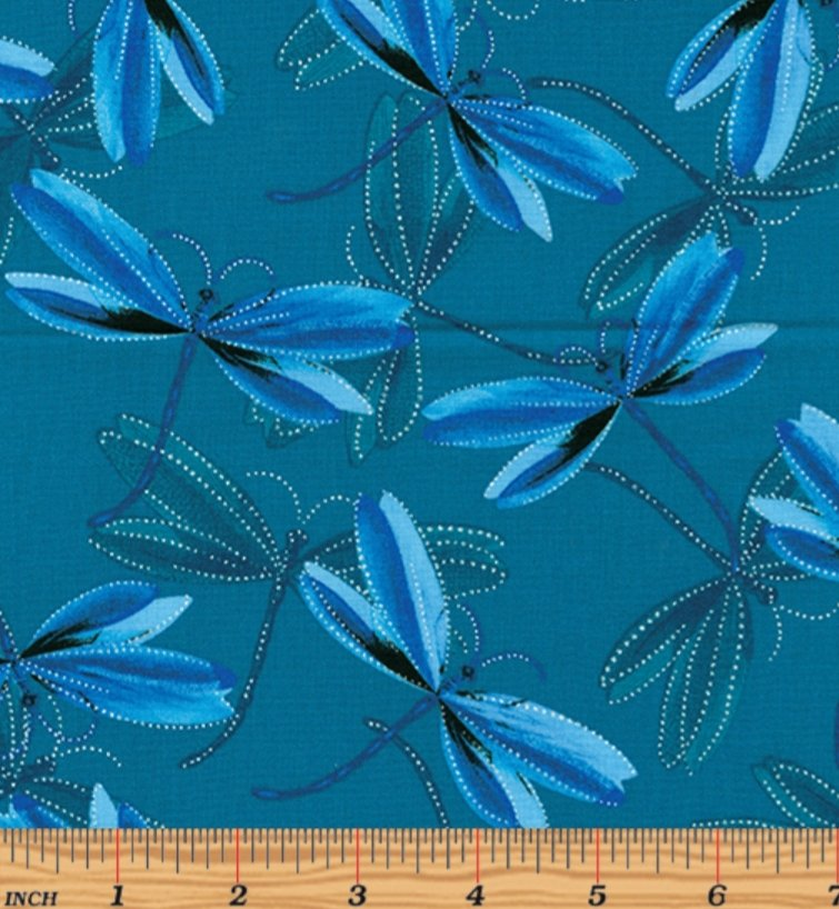 Kanvas Studio Dragonfly Dream Dark Teal