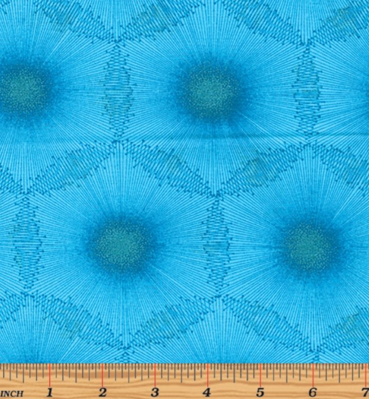 Kanvas Studio Dandelion Dots Aqua/Teal