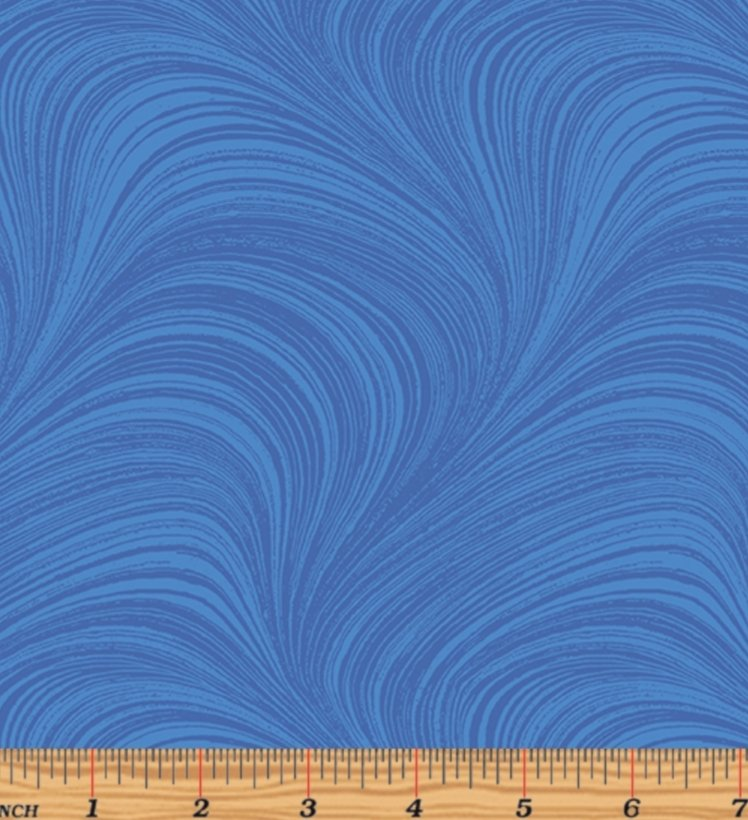 Benartex Wave Texture Medium Blue