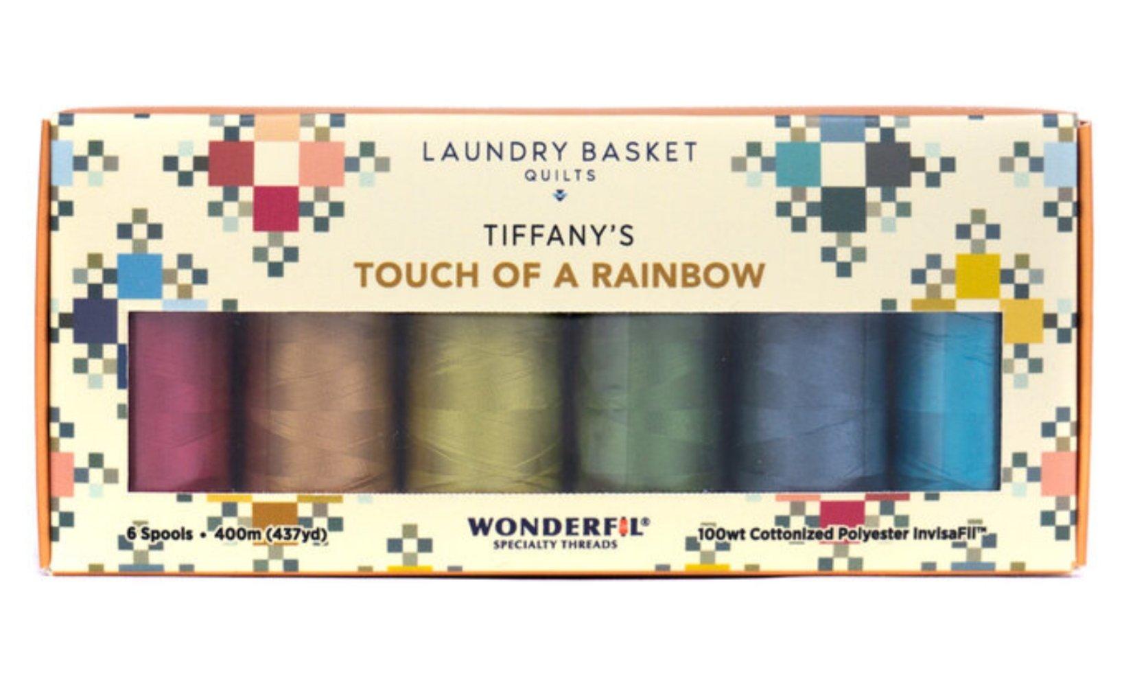 Invisafil Tiffany's Touch of a Rainbow 6 Spools