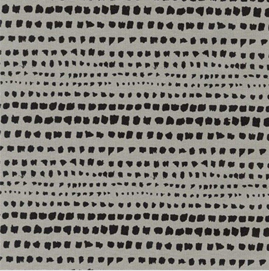 Robert Kaufman Driftless Printed Essex Strata Dots Pewter